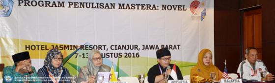 Program Penulisan Mastera: Novel, Wahana Tingkatkan Kreativitas Penulis Muda Asia Tenggara