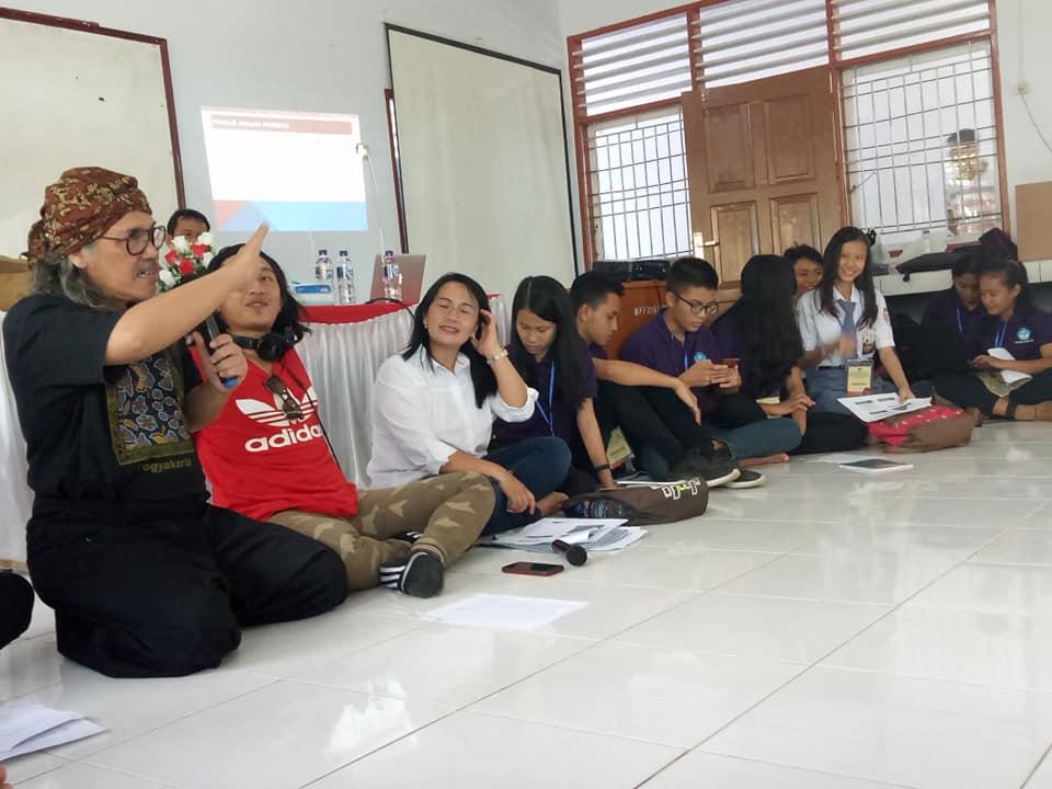 Bengkel Sastra Penulisan Kreatif bagi Guru dan Siswa SLTA  Se-Kabupaten Minahasa Utara