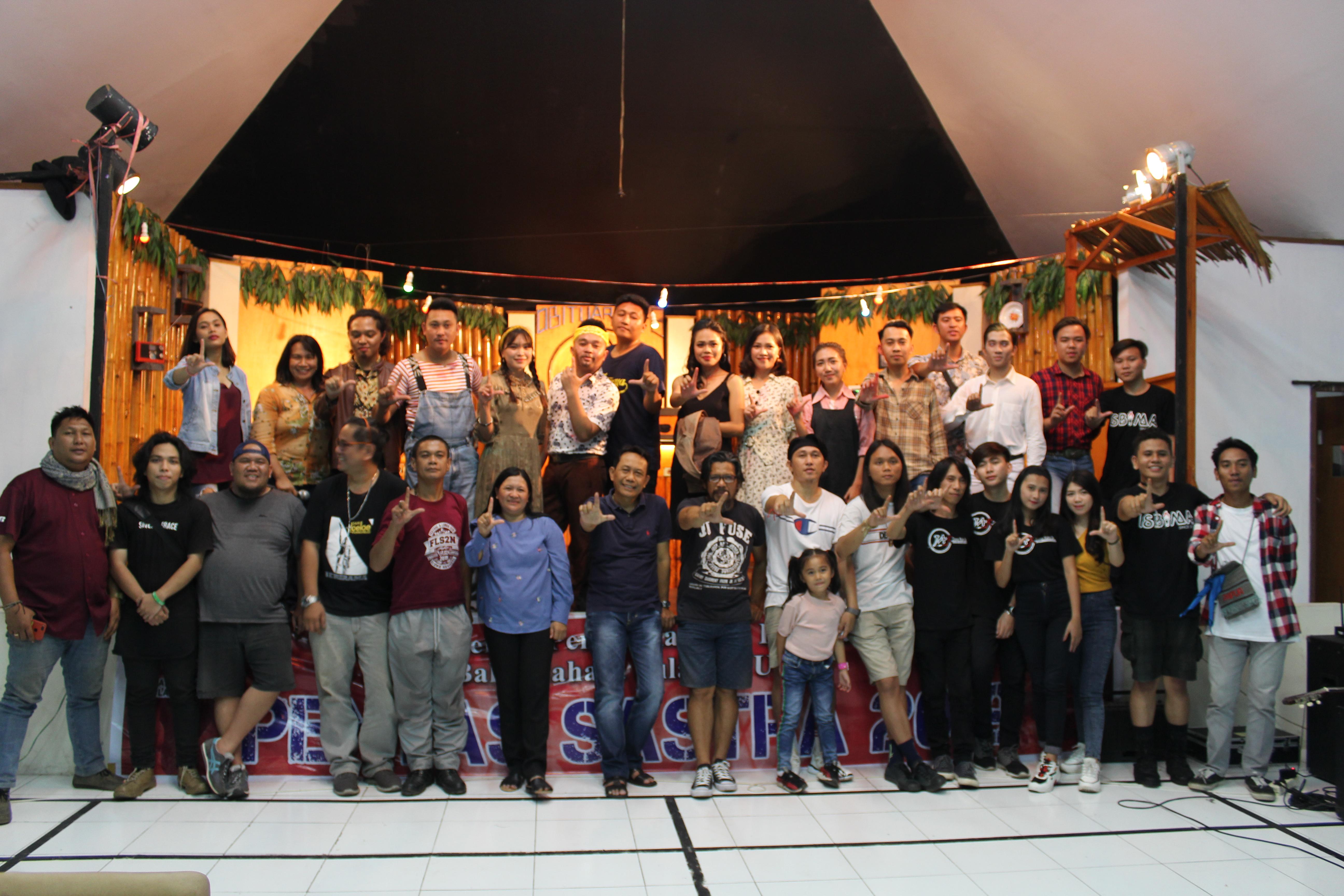"""Pentas Sastra """"Obituari"""" di Balai Bahasa Sulawesi Utara"""