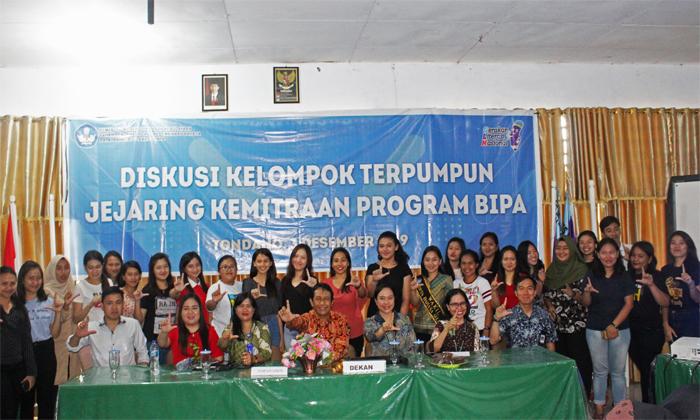 Diskusi Kelompok Terpumpun Jejaring Kemitraan Program BIPA