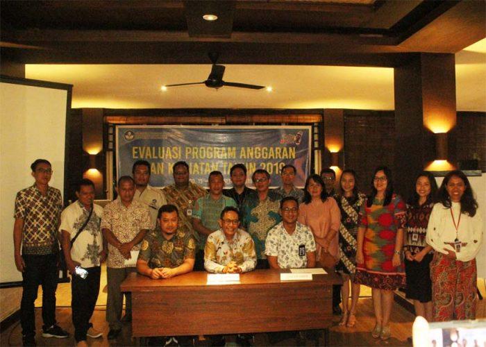 Evaluasi Program Anggaran dan Kegiatan Tahun 2019 Balai Bahasa Sulawesi Utara