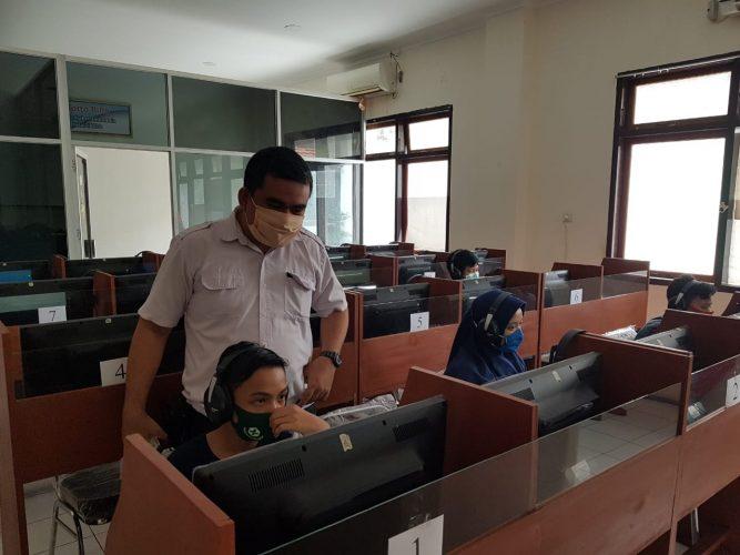 Antusiasme Peserta Tes UKBI Dinamis di Balai Bahasa Provinsi Sulawesi Utara