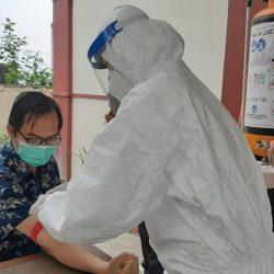 Uji Cepat Covid-19 di Balai Bahasa Provinsi Sulawesi Utara