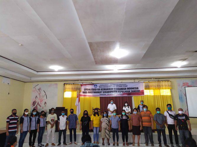 Sosialisasi UKBI Bagi Masyarakat Se-Kabupaten Kepulauan Sangihe