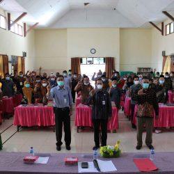 Penyuluhan Bahasa Indonesia Bagi Tokoh Agama dan Tokoh Masyarakat Kota Kotamobagu 2021