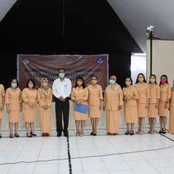 Pelantikan Pengurus Dharma Wanita Balai Bahasa Provinsi Sulawesi Utara Masa Bakti 2019--2024