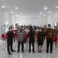 Sosialisasi Layanan Bahasa dan Hukum Kabupaten Minahasa Utara Tahun 2021