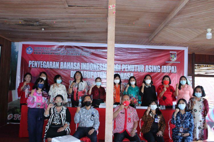 Penyegaran Bahasa Indonesia bagi Penutur Asing (BIPA) di Kabupaten Minahasa 2021
